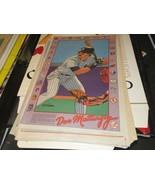 Don Mattingly , N. Y. Yankees  , N.Y. Daily News Comic Poster ,1985 ,Vin... - $39.60