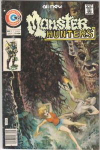 Primary image for Monster Hunters Comic Book #2, Charlton Comics 1975 FINE+