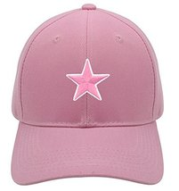 Pink Star Hat - Pink Adjustable Womens - $15.79