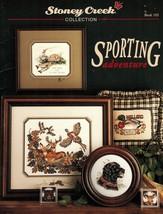 Cross Stitch Hunting Fishing Bull Elk Black Lab Bear Mallard Coaster Pat... - $12.99