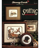 Cross Stitch Hunting Fishing Bull Elk Black Lab Bear Mallard Coaster Pat... - $12.99