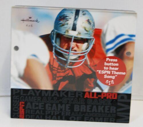 Hallmark 1ESP7617 Sports Picture Frame Plays ESPN Theme Song