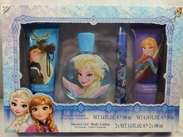 ❄ Disney Princess Frozen Bathtime Shower Gel body Lotion Perfume GIFT SET - $13.50