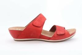 Dansko Vienna  Milled Nubuck Tomato Sandals Women's Size EU 39( EP) $ - $112.20