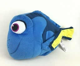 Talking Dory Fish Plush Stuffed Toy Finding Nemo Dory Bandai 2016 - $16.78