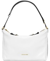MICHAEL Michael Kors Chelsey Large Convertible Zip Shoulder Bag White Bl... - $294.01
