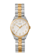 Timex Briarwood 28mm Women's Silver Gold Tone Casual Analog Watch TW2T45... - $41.57