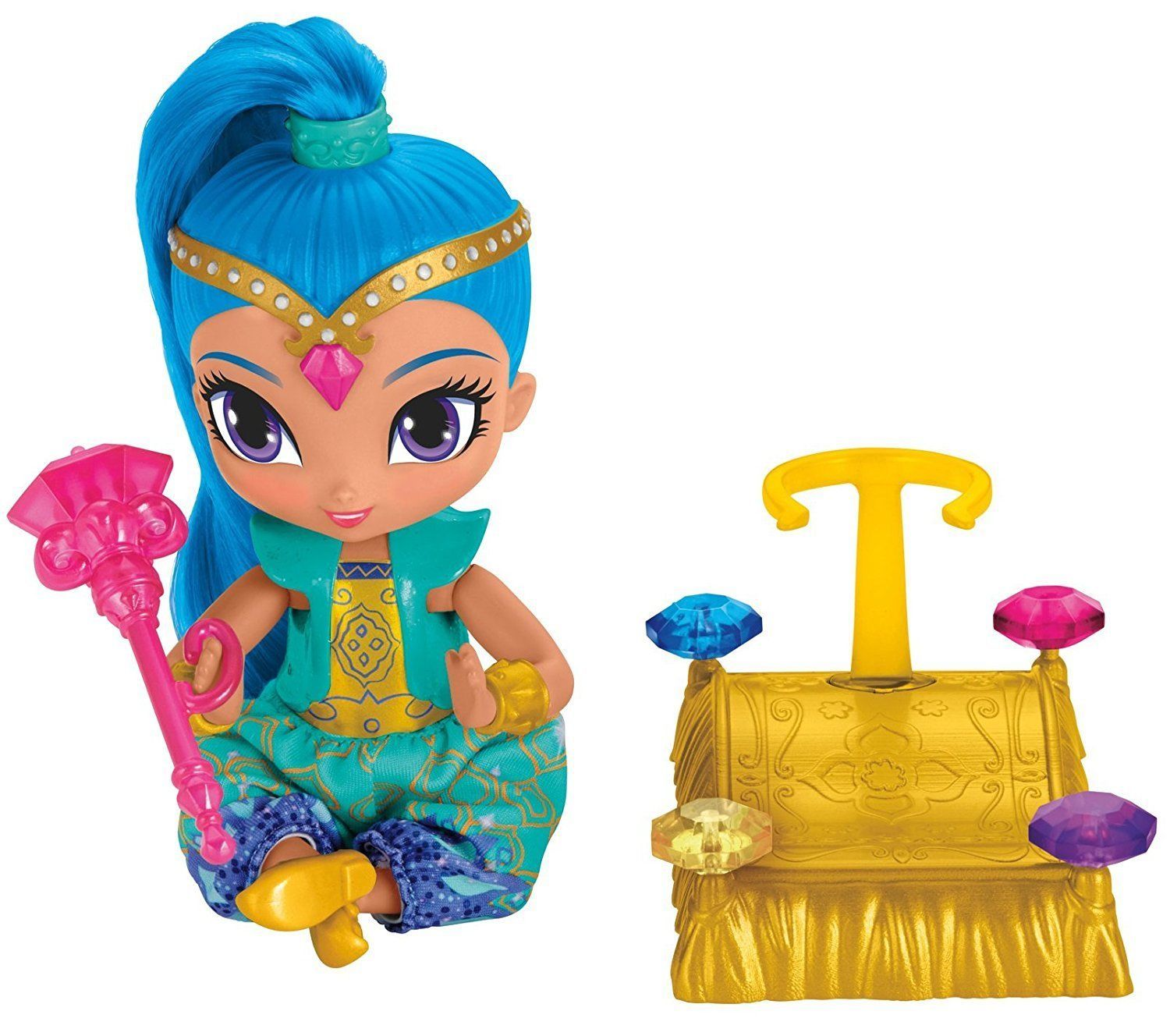 Shimmer and Shine Floating Genie - Shine Doll Playset - FHN30 - NEW