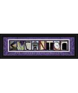 University of Scranton Officially Licensed Framed Campus LetterArt  - $39.95