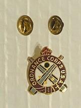 US Military Ordnance Corps Regiment Insignia Pin - $10.00