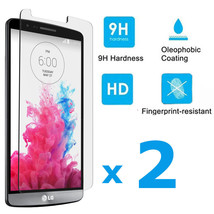 Lot of 2 Premium Real Tempered 9H Glass Screen Protector Skin Film For L... - $4.47