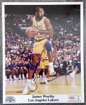 James Worthy Signed 8x10 Photo Lakers - £19.09 GBP