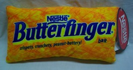 "Nestle BUTTERFINGER CANDY BAR 10"" Pillow Plush STUFFED ANIMAL Toy NEW - $18.32"