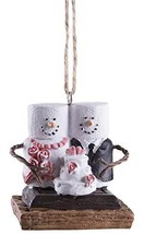 Gnz S'Mores Newlywed Couple w/Wedding Cake Christmas/Everyday Ornament - $11.83