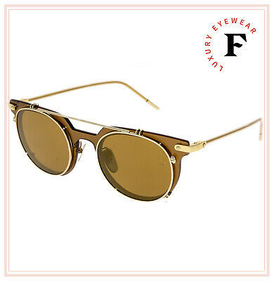 DOLCE & GABBANA PRINCE 2196 Brown Camel Gold Mirrored Sunglasses DG2196S Men