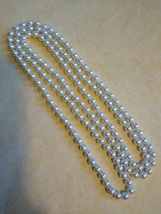 Pearl Necklace, 60 inches - $9.99