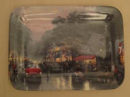 CARMEL CALIFORNIA collector plate THOMAS KINKADE Postcards from Kinkade - $23.92