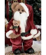 "Bearington Bears ""Mr. Claus""  15"" Collector Bear- #1475 -New- 2004-Retired - $49.99"