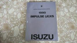 1990 Isuzu Impulse (JI) XS Electrical Troubleshooting Manual USED OEM - $17.99