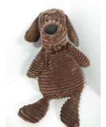 JELLYCAT plush Cordy roy brown plush puppy dog cordyroy chenille ribbed ... - $12.86