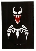 NEW Venom Edge Home Marvel 14x20 Wrapped High Gloss Canvas Art  - $37.04