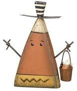 PBK Fall Decor - Prim Chunky Wood Candy Corn Sitting Man Small #21157 - $14.80