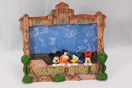 """Disney Frame Hollywood Tower Hotel 3D Hold a 3.75"""" x 8"""" photo - $38.71"""