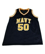 David Robinson #50 Navy New Men Basketball Jersey Navy Blue Any Size - $44.99+