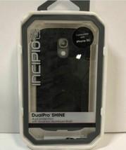 Genuino Incipio Dualpro Brillo Aluminio Acabado Funda Para IPHONE 5C - $12.74