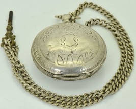 Unusual&rare antique Ottoman Dent London pocket watch c1880's.Fancy enam... - $1,790.00