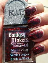 Fantasy Makers Once Upon A Time Red Glitter Nail Polish RIP By Wet n Wild - $12.99