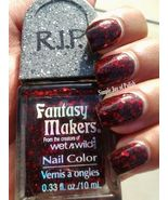 Fantasy Makers Once Upon A Time Red Glitter Nail Polish RIP By Wet n Wild - $9.99