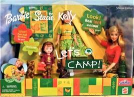 Barbie Doll LET'S CAMP BARBIE STACIE & KELLY GIFT SET TOYS R US EXCLUSIV... - $109.90