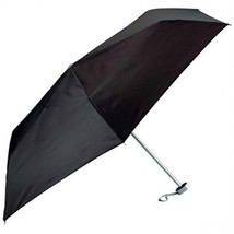 All-Weather GFUMLT Solid Black Mini Umbrella - $16.58