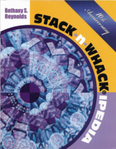 Quilt Pattern Book-Magic Stack N Whack IPEDIA-Bethany Reynolds-10TH Anni... - $32.55