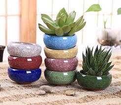 Home Decoration Accessories Flower Pots Plants Ceramic Flowerpots Bonsai Garden  - $26.28