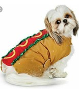 Hot Dog Dress Up, Funny Pet Costume Halloween Party Outfit Clothes Sausa... - $9.90