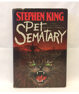 HC book Pet Sematary by Stephen King 1983 1st print edition BCE Doubleday - $10.00