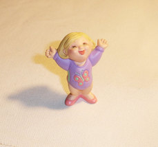 Hallmark Merry Miniatures Kids Girl Gymnist - $6.25