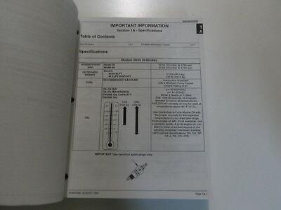 1998 Mercury Mariner Outboards 30 40 4 Stroke Service Repair Manual 90-857046 image 3