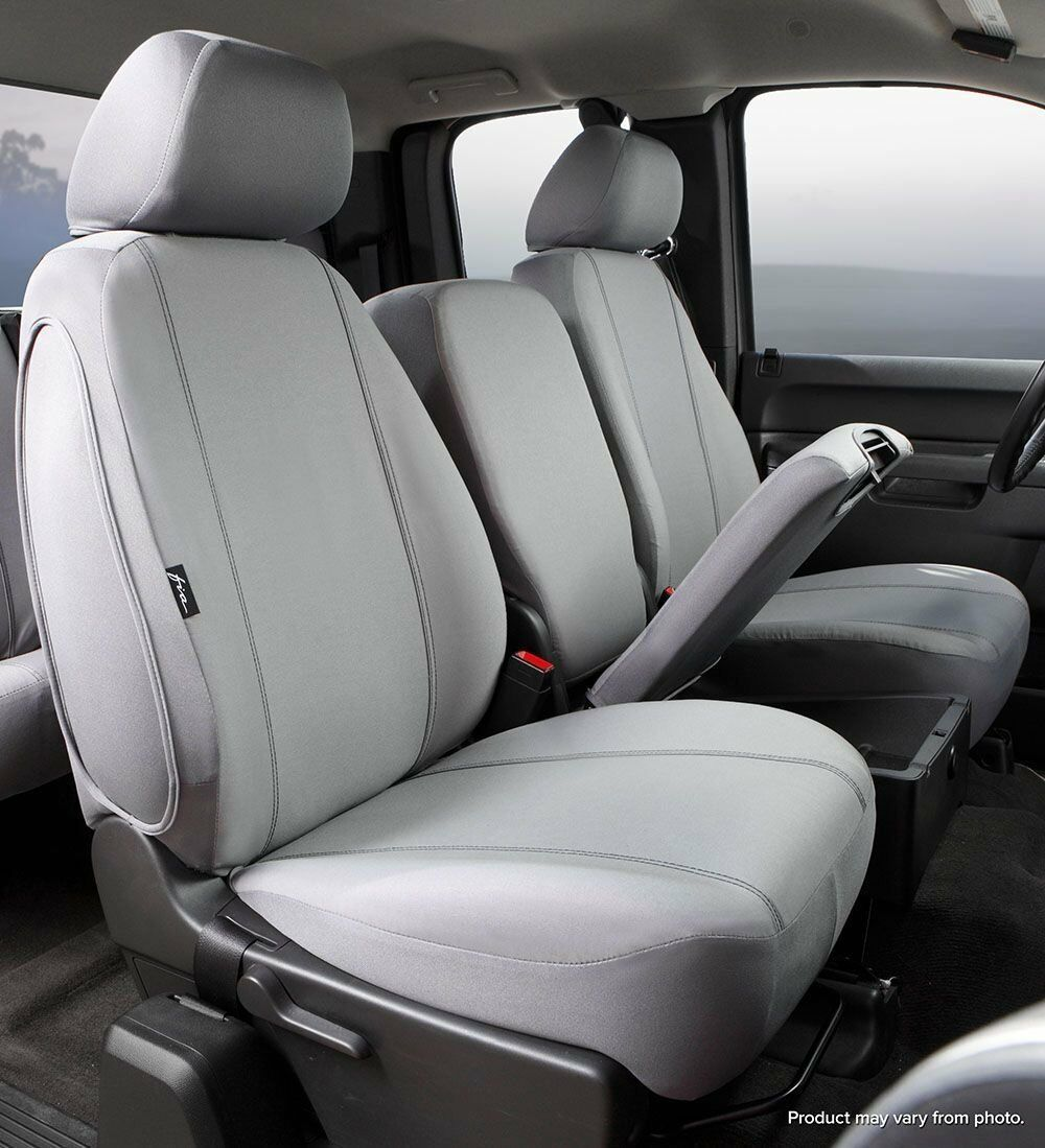 Fia SP88-29 Custom Front Seat Covers Gray Fits 10-17 Chevrolet Equinox Terrain - $116.82