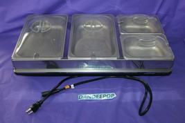 Toastess 4 Compartment Food Warmer TWB-449 With Covers - $94.04