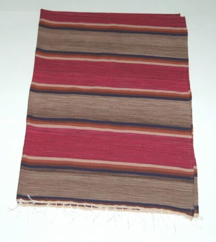 El Paso Saddle Blanket Co 6108 Southwestern Style Blanket Multi Colored Striped