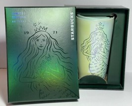 Starbucks Spring 2021 50th Anniversary Limited Edition Siren Double Wall... - $59.40