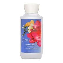 Bath & Body Works Freesia Shea & Vitamin E Body Lotion, 8 Ounce - $14.47