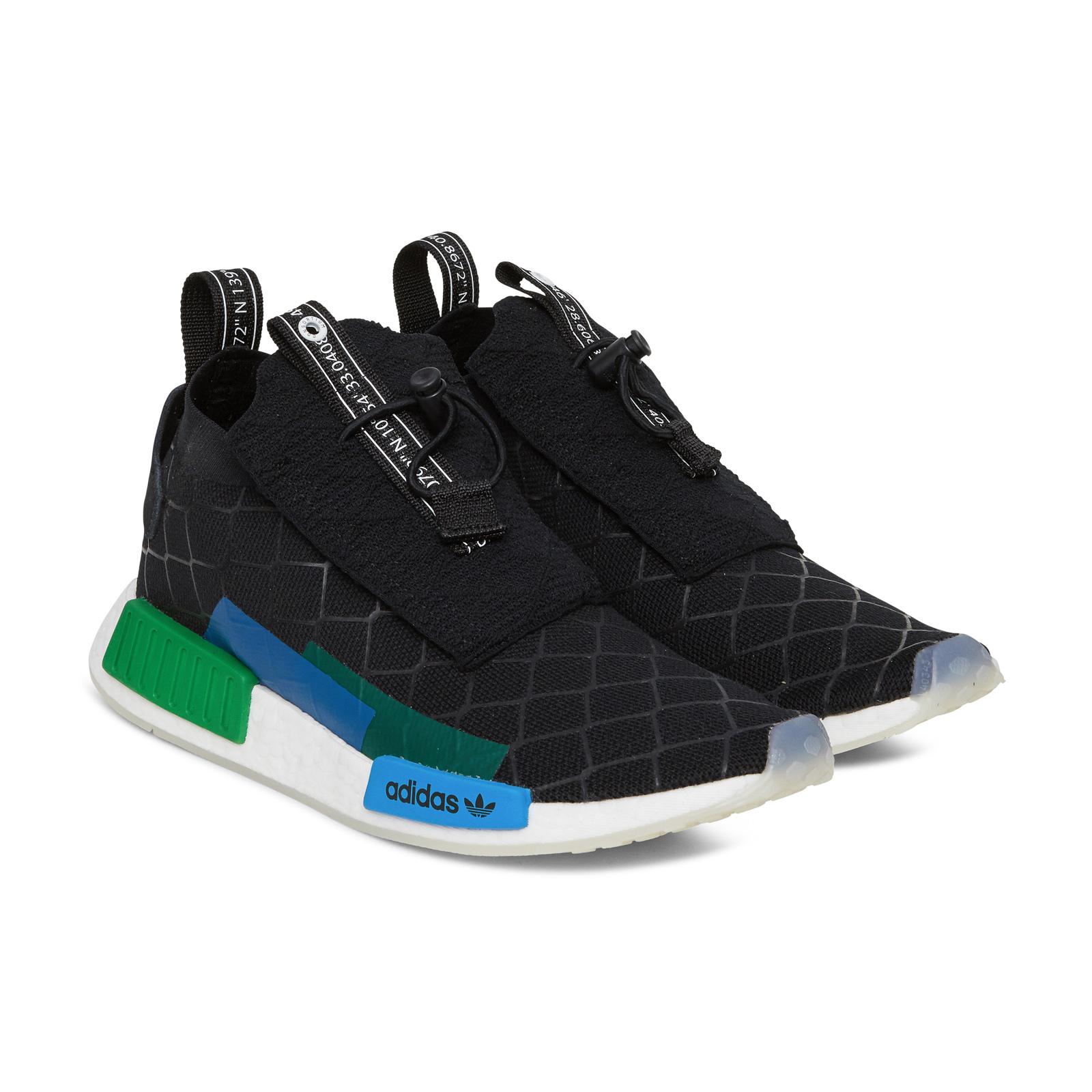 4023ea42351f3 Adidas Consortium x Mita NMD TS1 PK Primeknit (Black  Blue  Green) Men