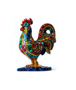 Barcino Designs Carnival Cock Mosaic New brand from Spain - $11.283,19 MXN
