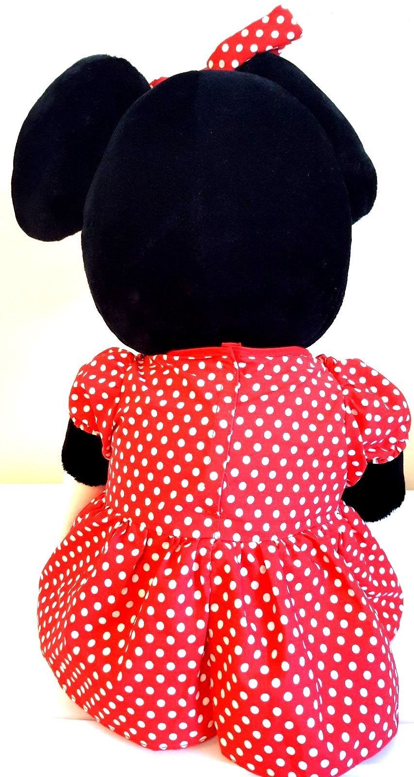DISNEYLAND WALT DISNEY WORLD – BIG Minnie Mouse Plush Stuffed Animal – 20 inches