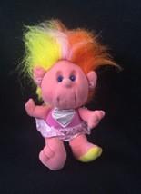 VTG Playskool Hobnobbins Cousin Darling Stuffed Animal Plush Doll Pink 1989 - $13.85