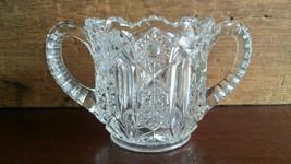 McKee Glass Company Prescut Open Sugar Bowl / B... - $18.00